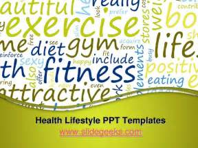 health lifestyle ppt templates