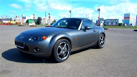 motor repair manual 2007 mazda mx 5 navigation system 2007 mazda mx 5 start up engine and in depth tour youtube