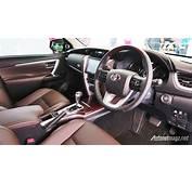 Toyota Fortuner 2016 Indonesia Interior  AutonetMagz