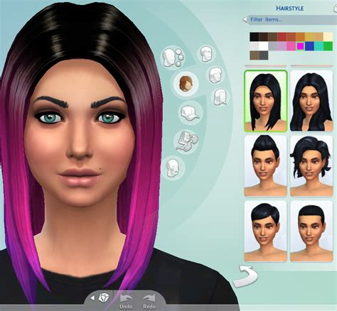 sims 4 ombre hair hair non default ombre hair the sims 4 forum mods