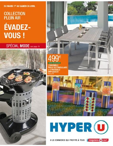 Amazing Table De Jardin Teck Super U #2: Catalogue-hyperu-evadez-vous_001.png