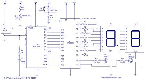 digital temperature sensor circuit diagram digital temperature sensor circuit diagram circuit and