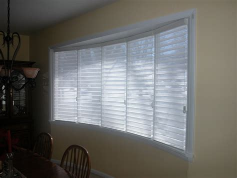 bow window blinds big bow window philadelphia by blinds designs