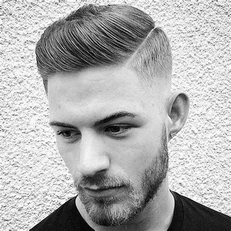 mens hard part hairstyle mens hairstyles cool haircuts for men hairstyles