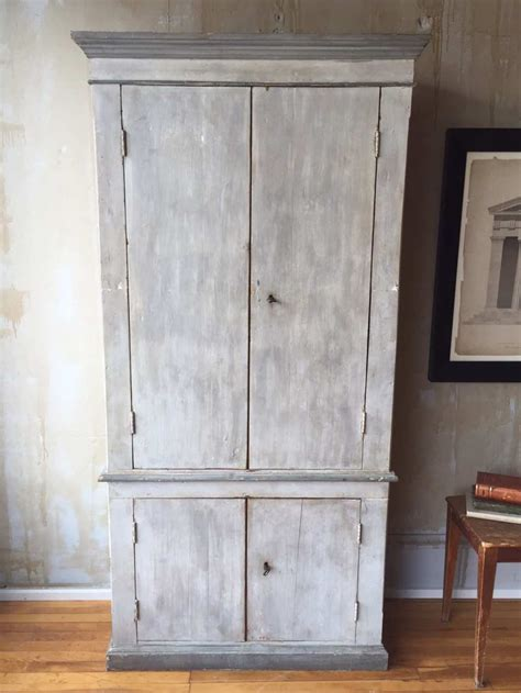 Vintage Storage Cabinets Charming Gray Antique Storage Cabinet Italy Omero Home