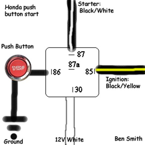 push button start and kill switch / ignition bypass