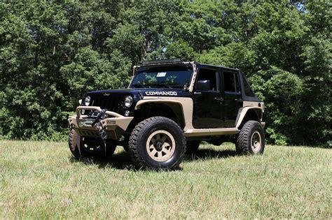 jeep wrangler commando the jeep wrangler commando is ready for war and peace