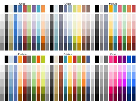 themes colour palette msocolor microsoft office theme colors file exchange