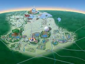 Disney World Map Of Resorts by Map Of Walt Disney World Resort Wdwinfo Com