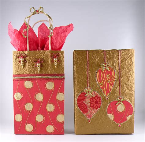 gift wrapping items gift wrapping using recycled materials