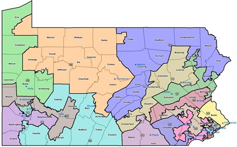 Lookup Congressional District By Address Pennsylvania Congressional Districts Politicspa