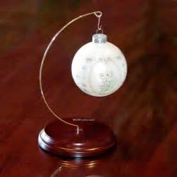 wholesale 8 1 2 quot walnut christmas ornament stand hanger