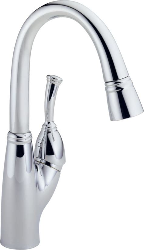 allora kitchen faucet delta allora single handle pull sprayer kitchen