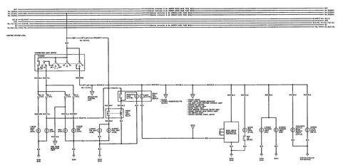 acura integra 1992 wiring diagrams turn signal l