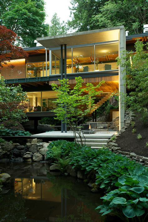Modernes Haus Im Wald southlands residence ein modernes haus im wald studio5555