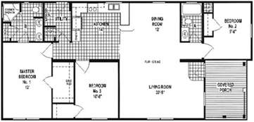 Small Double Wide Mobile Home Floor Plans by Champion Double Wide Mobile Home Floor Plans Modern