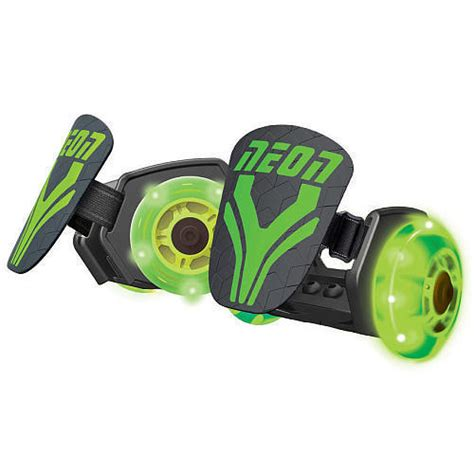 New Arrival Ready Stock Starwars Led Shoessz 21 25 Neon Light Up Rollers Green Light Up Clip On