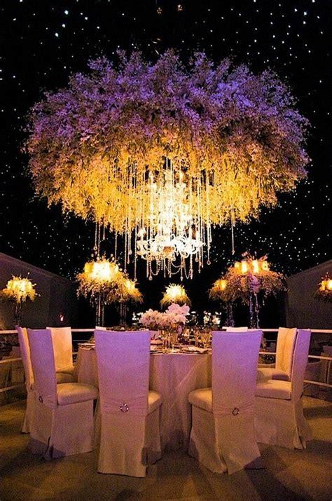 trending 12 fairytale wedding flower ceiling ideas for