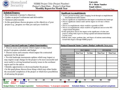 monthly reporting template 7 monthly report template authorizationletters org