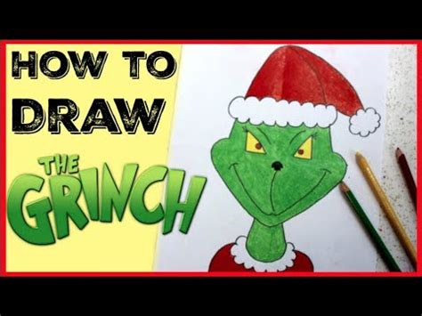 how to draw grinch youtube how to draw the grinch easy drawing for kids youtube