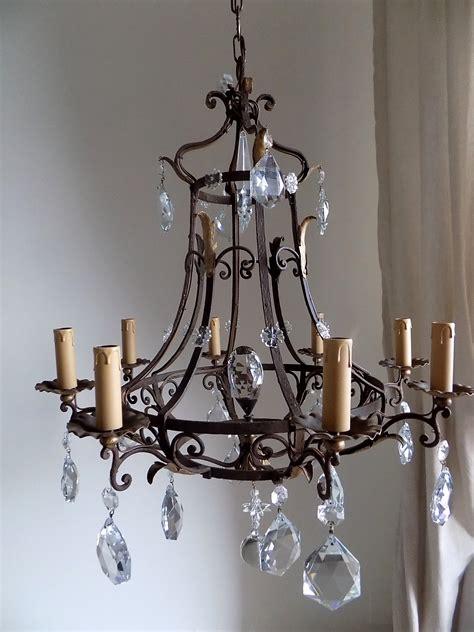 kronleuchter eisen antik antique iron chandelier best home design 2018