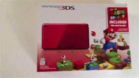 Kaset 3ds Mario 3d Land nintendo 3ds mario 3d land bundle unboxing en espa 241 ol