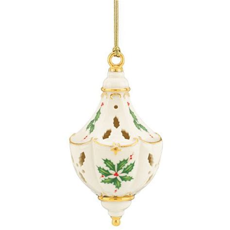 2014 lenox holiday pierced porcelain christmas ornament