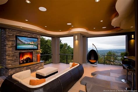 Luxe Home Design Inc Tv Above Fireplace Design Ideas