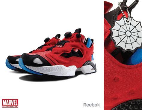 Sepatu Fila Sport Station marvel character themed reebok shoes geektyrant