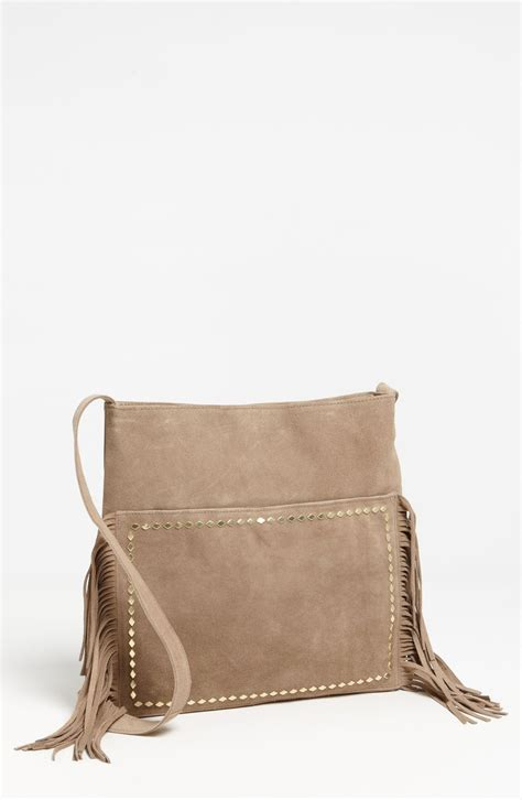 Steve Madden Crossbody Bags For by Steven By Steve Madden Steve Madden Fringed Suede Crossbody Bag In Brown End Of Color List