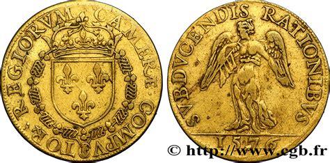 chambre des comptes chambre des comptes du roi henri iii 1576 ttb fjt 06521 jetons