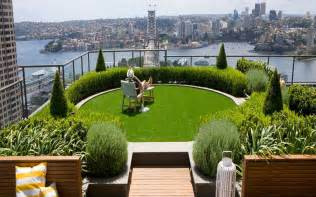 roof garden plants slope garden ideas city landscape top view from rooftop design with modern green round wood