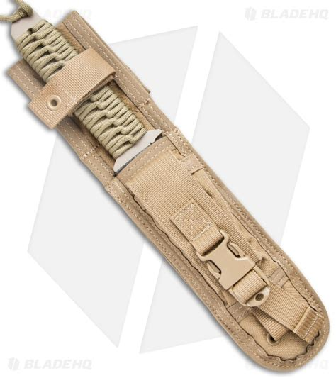 strider bt strider bt fixed blade knife coyote paracord 6 25 quot