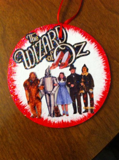 wizard of oz christmas ornament or gift tag by