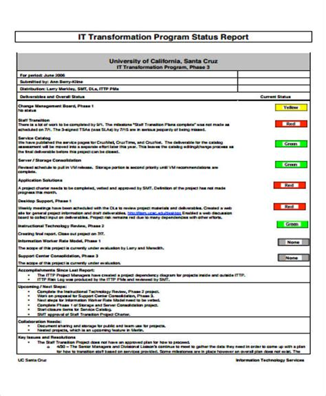 Tech Report Card Template by Technical Support Report Template Images Template Design