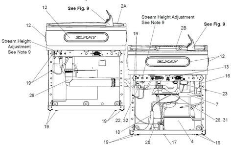 Elkay Water Cooler Parts Diagram