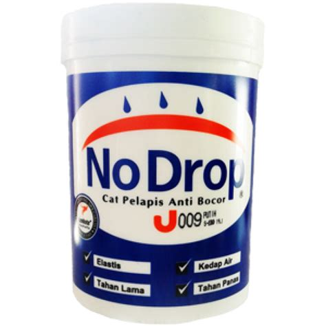 No Drop Pelapis Anti Bocor Cat Pelapis No Drop 20kg Pt Rama Distributor Avian