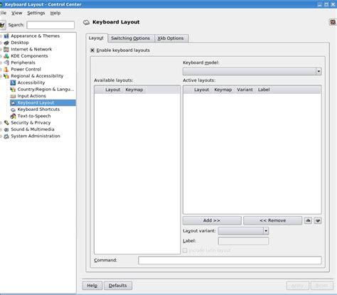 layout keyboard centos nomachine forums cannot change the keyboard layout under nx