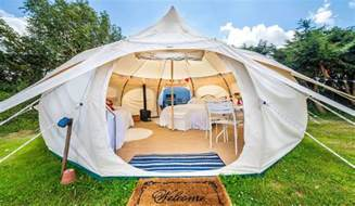 Lotus Bell Tent Lotus Luxury Canvas Tents Muted