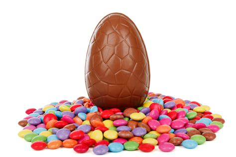 chocolate easter eggs easter egg with candy free stock photo public domain