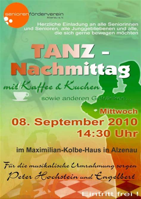 Plakat Veranstaltung by Seniorenf 246 Rderverein Alzenau E V Termine Und