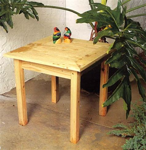 Wooden Patio Table Plans Outdoor Wood Table Plans Free Woodworking Projects