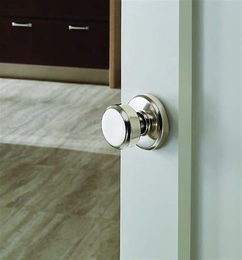 Interior Locking Door Knob Pretty Door Knob Schlage Greyson Style Non Locking Bowery Knob In Bright Chrome Our