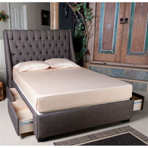 upholstered storage headboard 1159 cambridge upholstered storage bed by seahawk