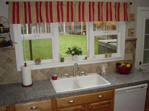 Kitchen Curtain Design Ideas by Kitchen Window Curtains Ideas Kitchenidease Com