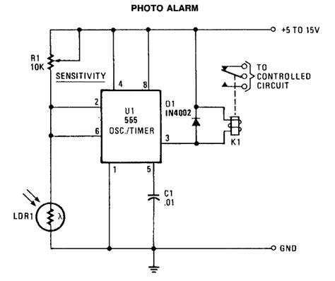 elektronika 25 skema rangkaian elektronika photo alarm skema elektronika gratis