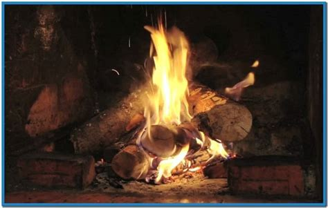 Real Fireplace Screensaver by Fireplace Screensaver Mac Free
