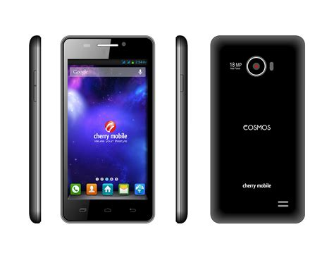 hd display mobile cherry mobile intros cosmos z with 5 inch hd 1080p
