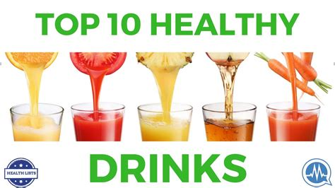 Healthy Drink Nes V top 10 healthy drinks you should start today