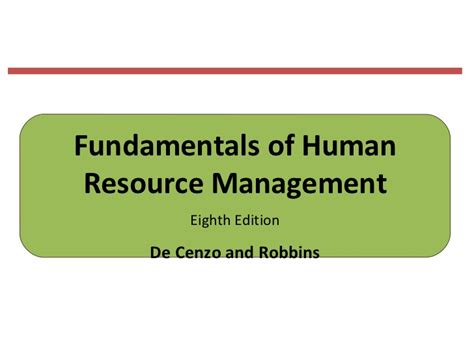 fundamentals of management practice skills for the human services fundamentals of human resource management eighth edition
